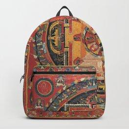 Tibetan Buddhist Nairatmya Fifteen Deity Mandala Backpack