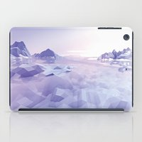 low poly iPad Cases featuring Low Poly Art by NewLineGraphics