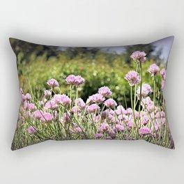 Chives & Bokeh Rectangular Pillow