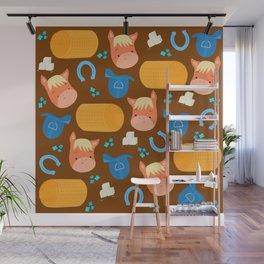 Horse pattern Wall Mural