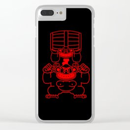 DK Junior Clear iPhone Case