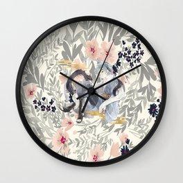 teen mitsuki Wall Clock