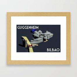 Guggenheim Bilbao Framed Art Print