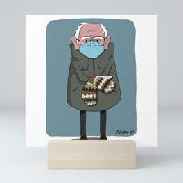 Bernie's Mittens Mini Art Print