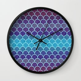 Watercolor Lovely Pattern VVIII Wall Clock