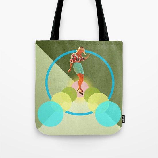 Skate for peace Tote Bag