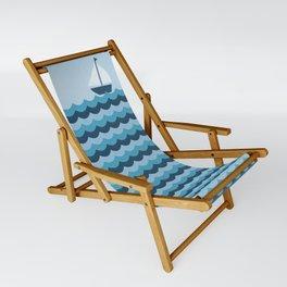 Ocean Waves Sling Chair