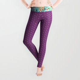 Japanese Garden Leggings