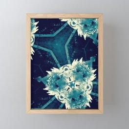 All About Blue Framed Mini Art Print