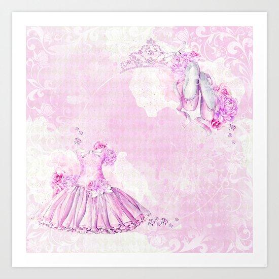 Ballerina #3 Art Print