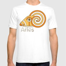 Deco Aries SMALL Mens Fitted Tee White