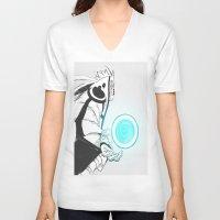 naruto V-neck T-shirts featuring Naruto by Iotara