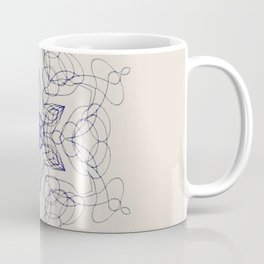 Ornate Star with Arabesque Line Coffee Mug