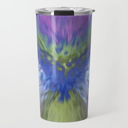 At The Speed of Blue Travel Mug