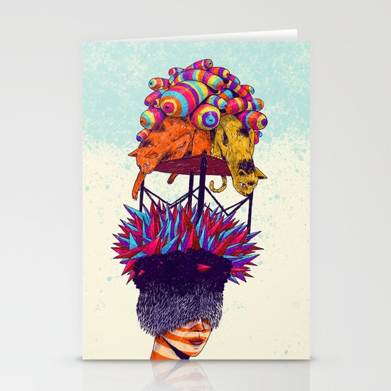 Full head Stationery Cards