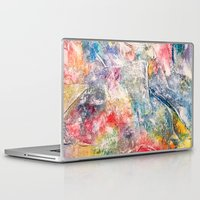 moon phase Laptop & iPad Skins featuring Phase by Tiffany Tremaine (birdy)