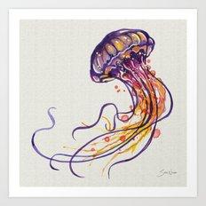 Jellyfish I Art Print