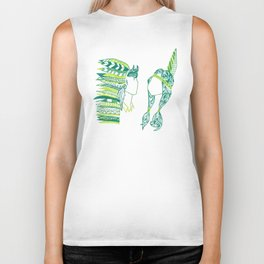 Peter Pan and Tiger Lilly Biker Tank