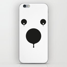 bear dissolved iPhone Skin