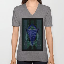 I found the Sky in a Forest Unisex V-Neck