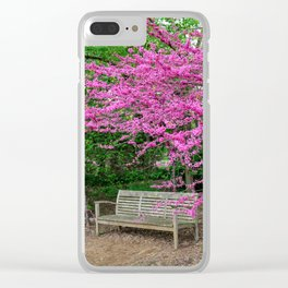 Grounds for Spring Clear iPhone Case