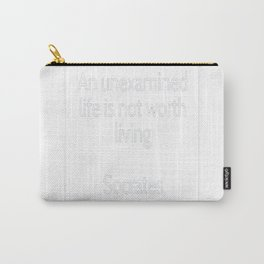 Socrates Quotes Carry-All Pouch