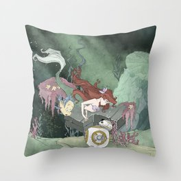 Treasures Untold Throw Pillow