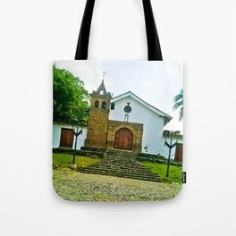 With the power of God. Tote Bag