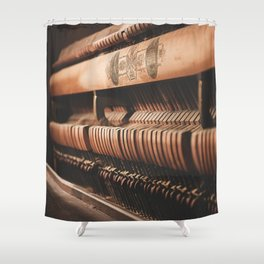 musical hammers Shower Curtain