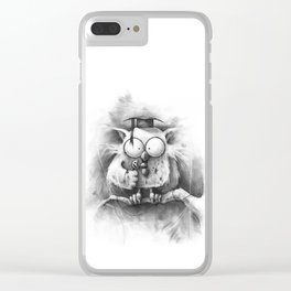 The Unwanted Answer Clear iPhone Case