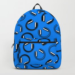 Headphones-Blue Backpack