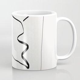 Abstract line art 6 Coffee Mug