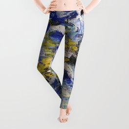 Abstract painting 5 Leggings