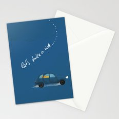 let's take a ride.. Stationery Cards