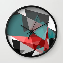 Not so Black and White Wall Clock