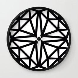 Estrella de copito Wall Clock