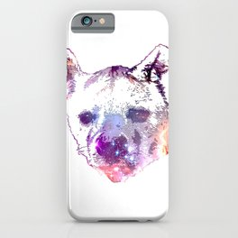 Space Hyena iPhone Case