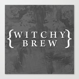 Witchy Brew Canvas Print