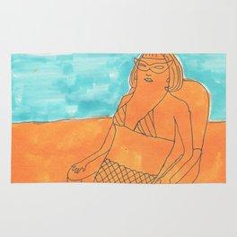 sand queen Rug
