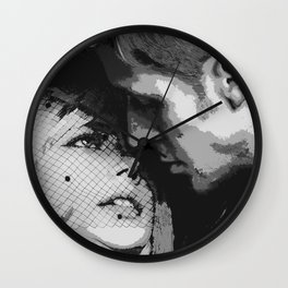Michelle and Ryan  Wall Clock