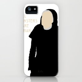 All Monsters Are Human - Sister Jude - AHS: Asylum iPhone Case