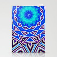 sacred geometry Stationery Cards featuring Sacred Geometry by Michael White