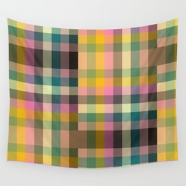 Stairwell Plaid Wall Tapestry