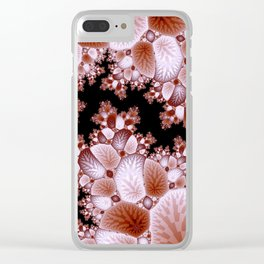 Crack in the Cosmic Fractal Clear iPhone Case