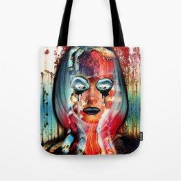 Radiation Girl Tote Bag