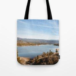 Bass Lake, California Tote Bag