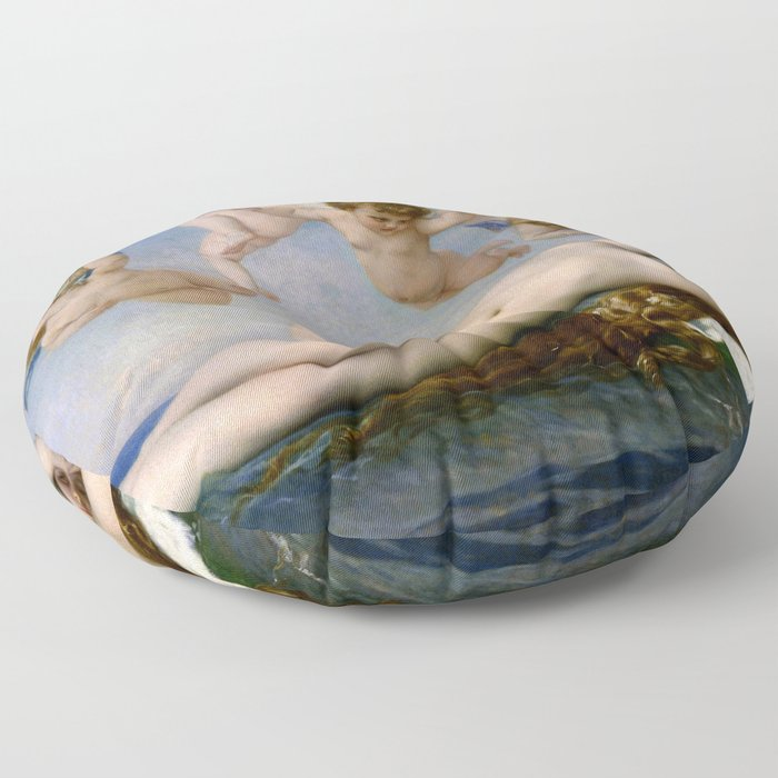 "Alexandre Cabanel ""The Birth of Venus"" (1863) Floor Pillow"