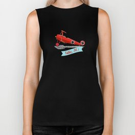 Red Baron's Fokker Dr.I Biker Tank