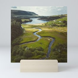 Stunning Peak District National Park Reservoirs Mini Art Print