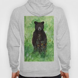 Cinnamon Black Bear Cub Hoody